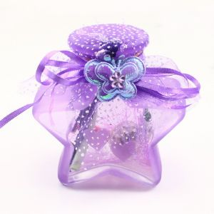 Star Jar, Light purple, 9cm x 5cm x 9cm, 1 piece, (CP044)